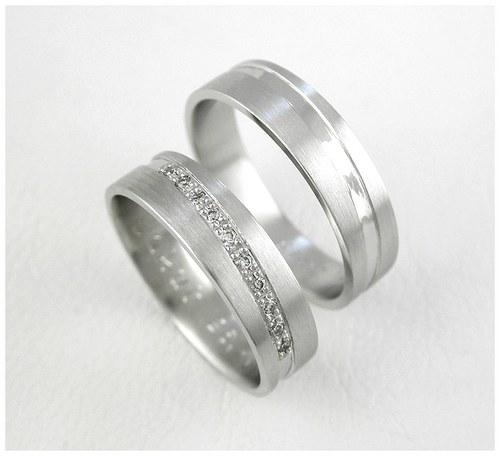 Snubní prsteny č.70