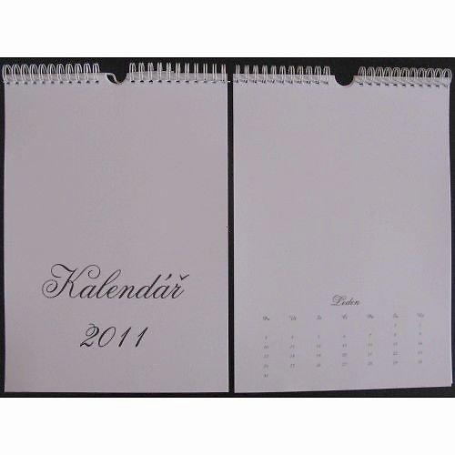 Kalendář 2011 nástěnný A4 se slevou!!