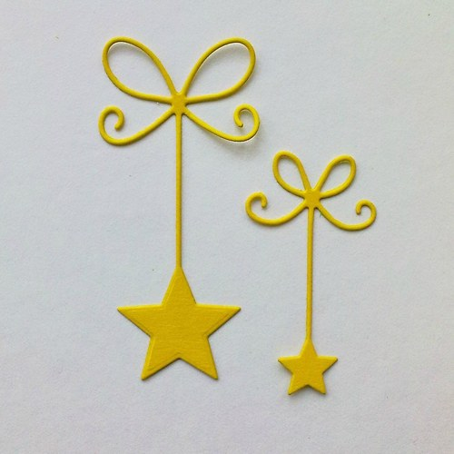 Výsek - Dvě hvězdy na stužkách