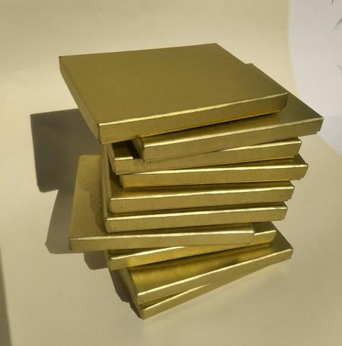 krabička HONZA - zlatá