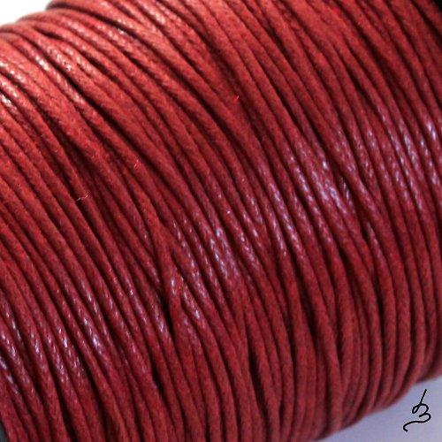 Bavlněná šňůrka 1 mm bordó
