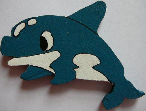 magnet delfín
