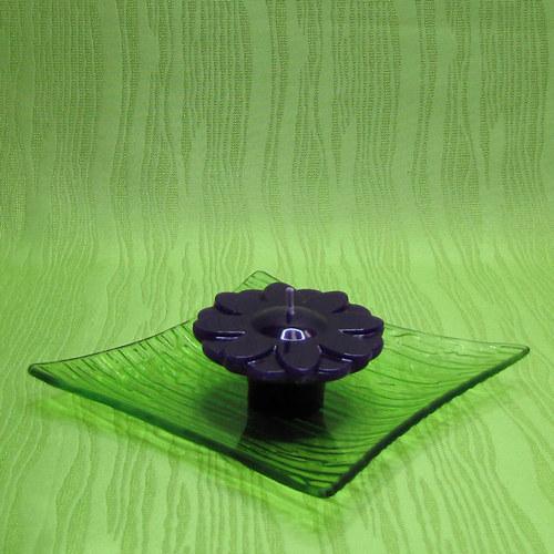 Svíčka plovoucí kopretina fialová - levandule