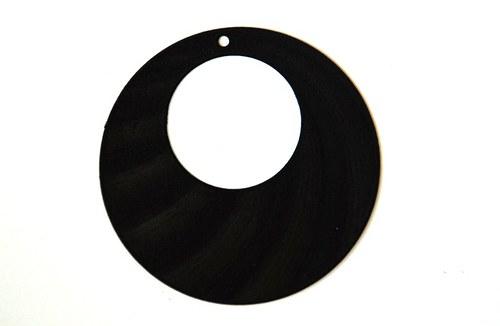měděné kolečko 47mm- černé