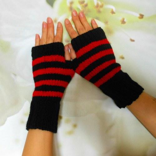 ruce v teple proužkované ll.