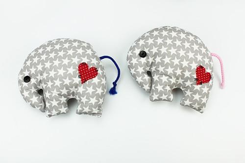 Látkový sloník  č.1535
