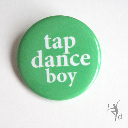 Placka TAP DANCE BOY