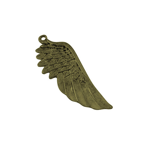 PRI3841, PRÍVESOK Krídlo 56mm StaroBRONZ /1ks