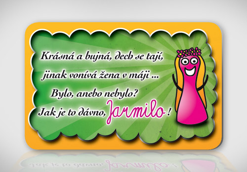 Poetická magnetka se jménem Jarmila