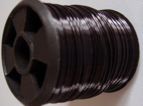 Bižuterní drátek - 10 m - černý