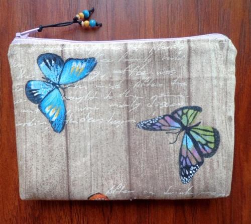 Kapsička s motýly