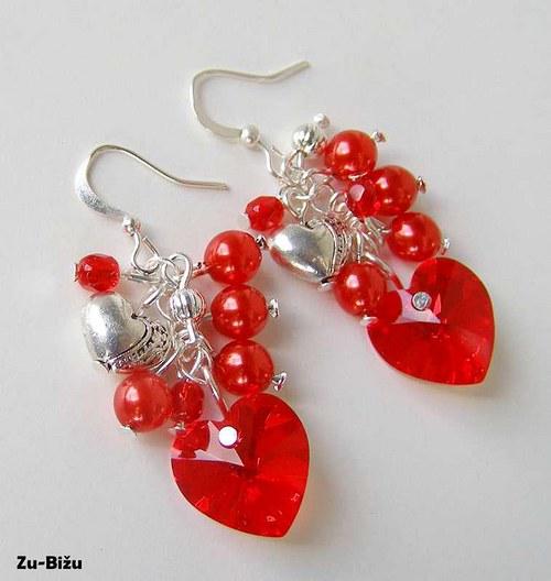 Červené srdcia