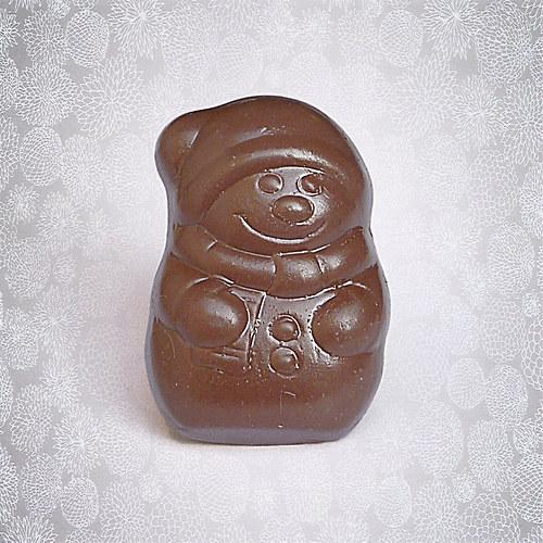 Čokoládový sněhuláček