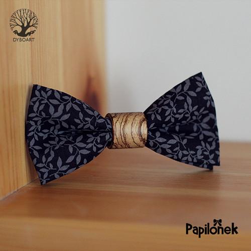 Luxusní motýlek - Papilónek Zebrano černolístek