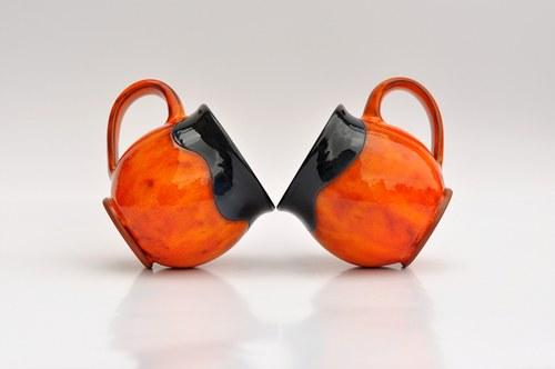 Velký buclák Orange&Black
