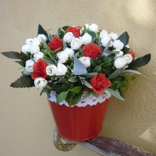 červená a bílá SLEVA z 235,-