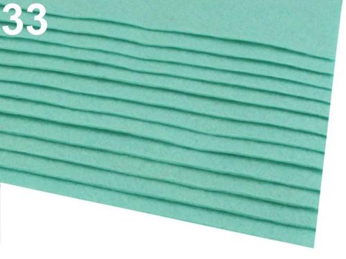 Arch plsti - filcu- 20x 30 cm : Tyrkys