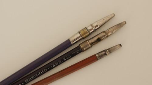 3x kovová násadka na tužku Koh i Noor