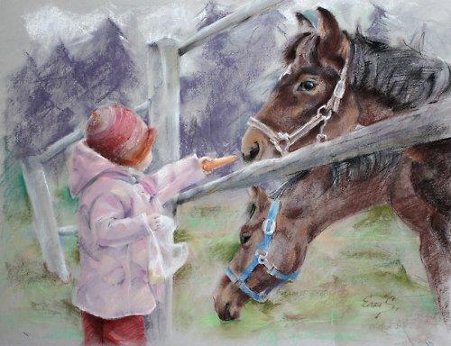 Svačinka pro koně