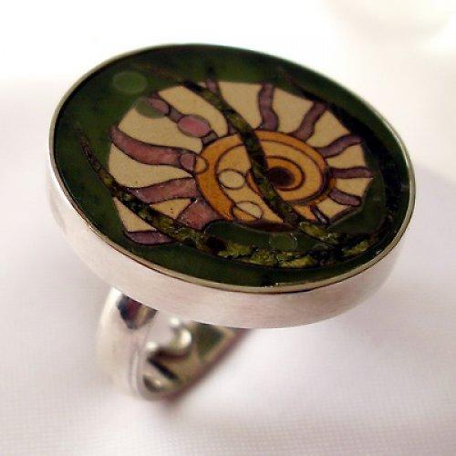 Prsten «Mušle»