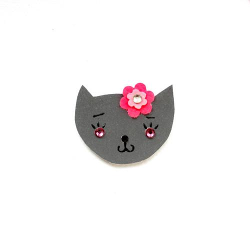 Reflexní brož kočička Katuška