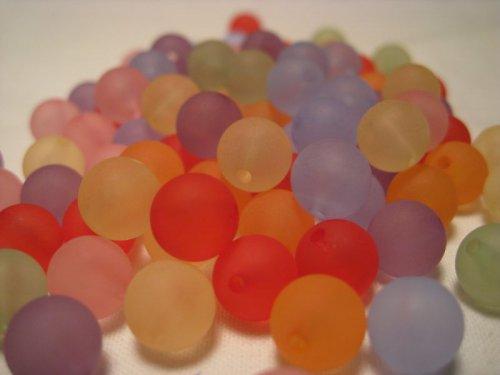 Korálky v pastelkových barvičkách 20 ks / 16,-- Kč