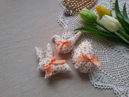 Velikonoční trojička oranžová