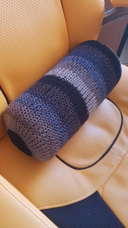 Relaxáček -relaxační váleček s pleteným povrchem