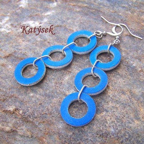 Modré těsnící kroužky