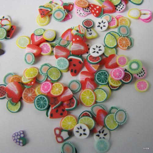 Plátky ovoce * 5 - 7mm * 50ks / bal