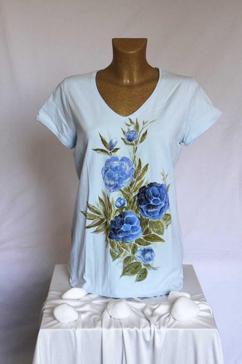 Malované tričko, vel. 46 (L)
