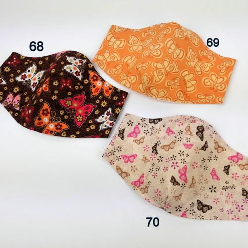 Rouška - výběr 70 vzorů i pro děti