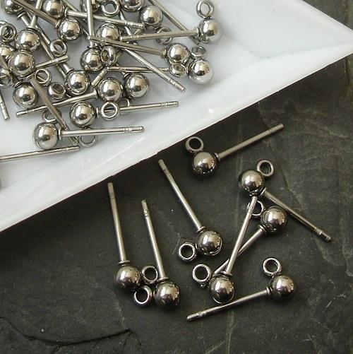 Puzety + zarážky Stainless Steel 316 - 2 ks