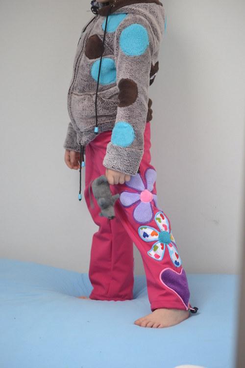 Softshelové kaťátka pro holky :-) srdíčka...