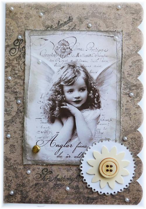 andělské přání do obálky