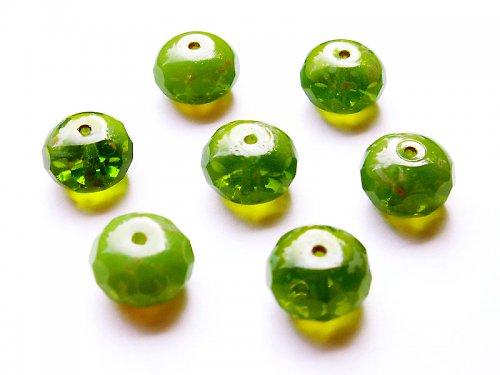 Zelené donuty s travertinem (ohňovky)
