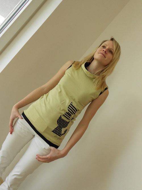 Vestička či tričko pro útlé dámy