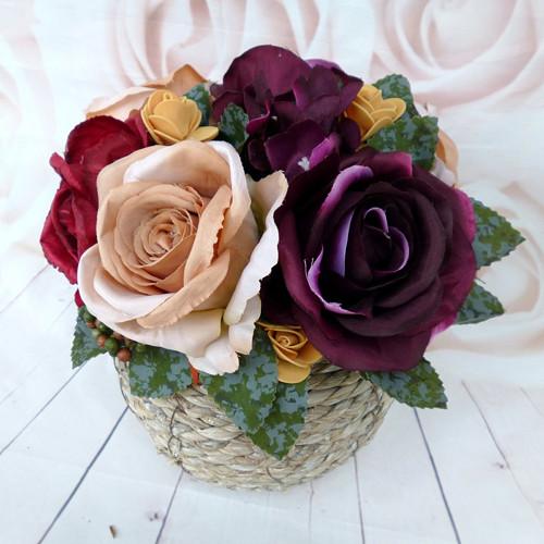 Ema Destinová_velká kytice růží