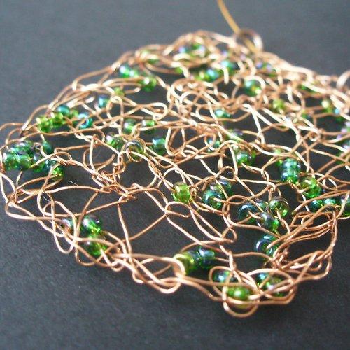 ZAMOTANÁ ... sada náhrdelník + náušnice