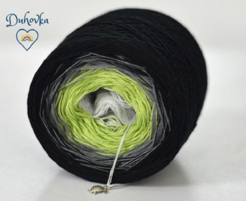 Duhové klubko - DUHOVKA  750 m - 3 nitka barva 13