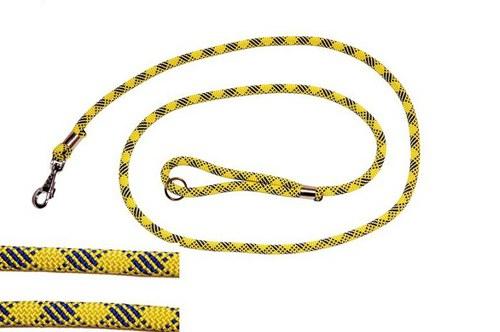 Vodítko z horolezeckého lana dl. 1,5m žluté