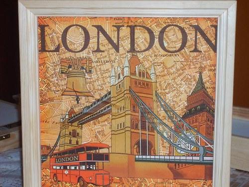 Skříňka na klíče velká - London