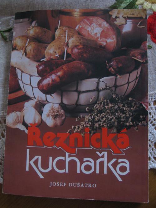 Řeznická kuchařka-Josef Dušátko