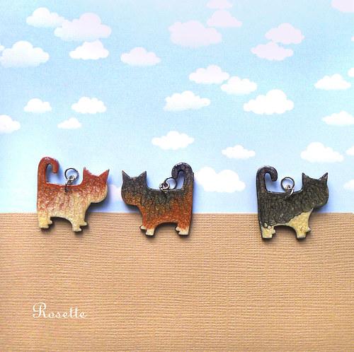 Kluci kočičí - náhrdelník