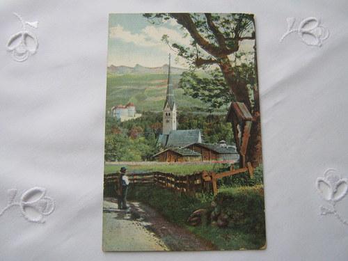 Stará pohlednice z roku 1918