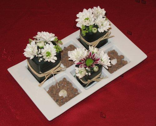 Květinové sushi