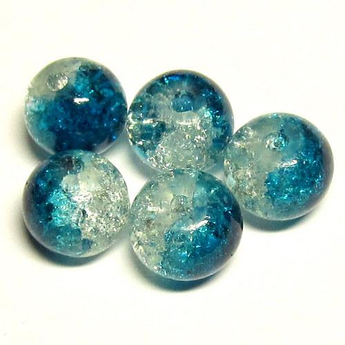 Práskačky - modrobílé - 5 ks