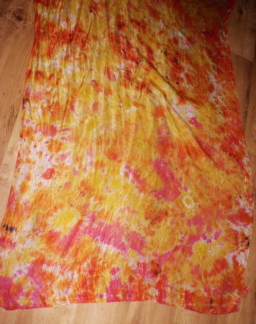 šátek hedvábí