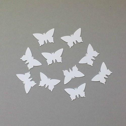 Výsek - motýl  10ks - barva dle přání