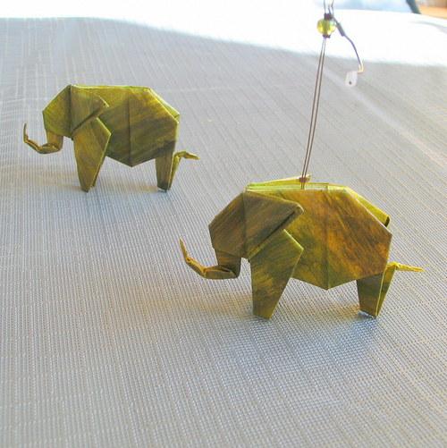 Přehlídkové sloní náušnice